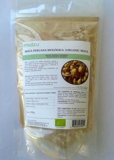 Organic Peruvian Maca 100 g