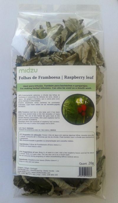 Raspberry leaf Midzu 20 g