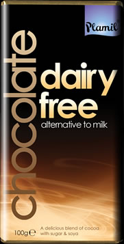 Dairy free alternative to milk chocolate 100g -  gluten free