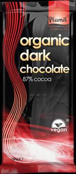 Organic dark chocolate 100g - gluten free