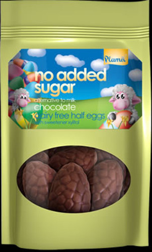 Chocolate eggs (halfs) no added sugar - Gluten Free