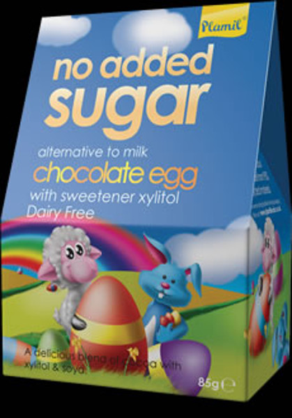 No added sugar chocolate egg - Gluten Free