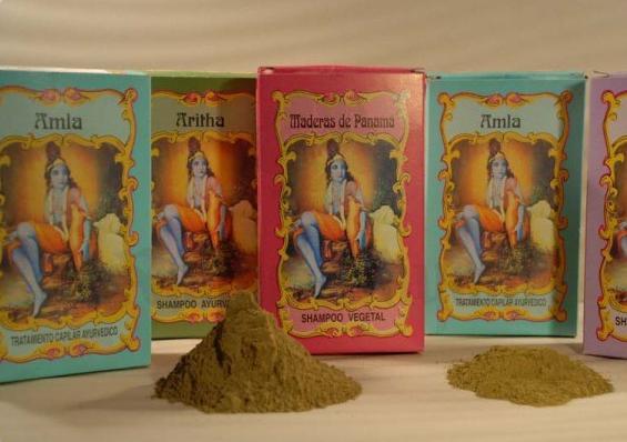 Ayurvedic Shikakai Shampoo 100 g - Radhe Shyam