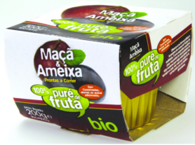 Apple & Plum puree BIO 2*100g