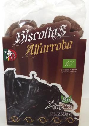 Organic carob biscuits 250g