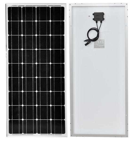 Monocrystalline solar panel 100 W