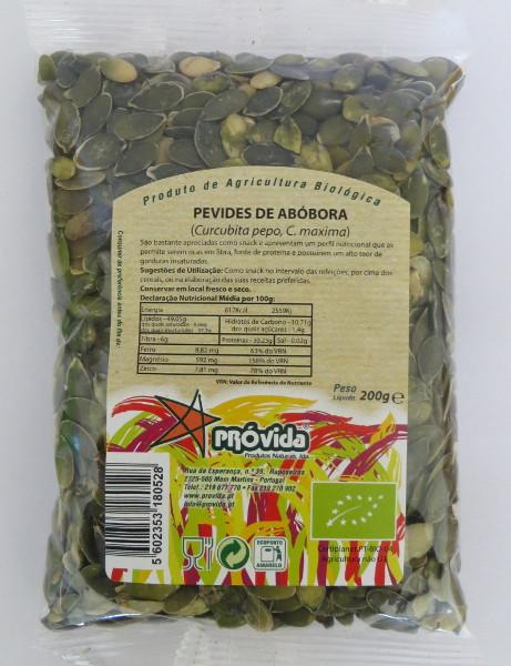 Organic pumpkin seeds 200g