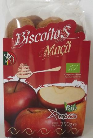 Organic Apple Biscuits 250g