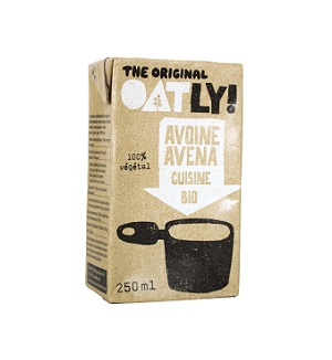 Organic Oat Cream Oatly 250ml