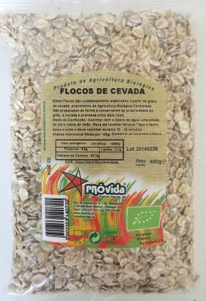 Organic rye flakes 400g