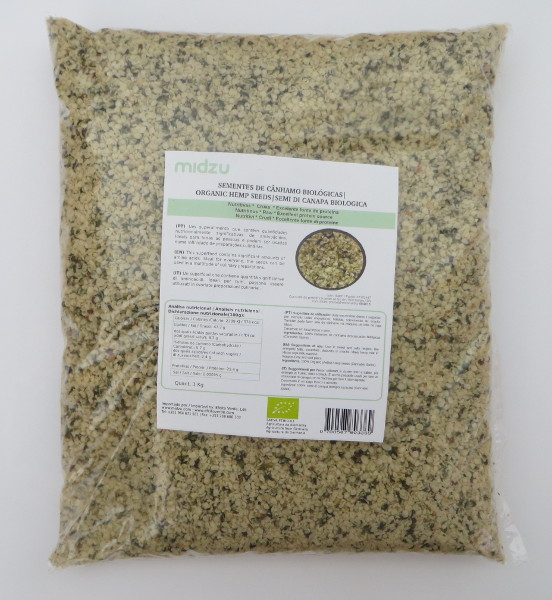 Organic hemp seeds Midzu 1 Kg