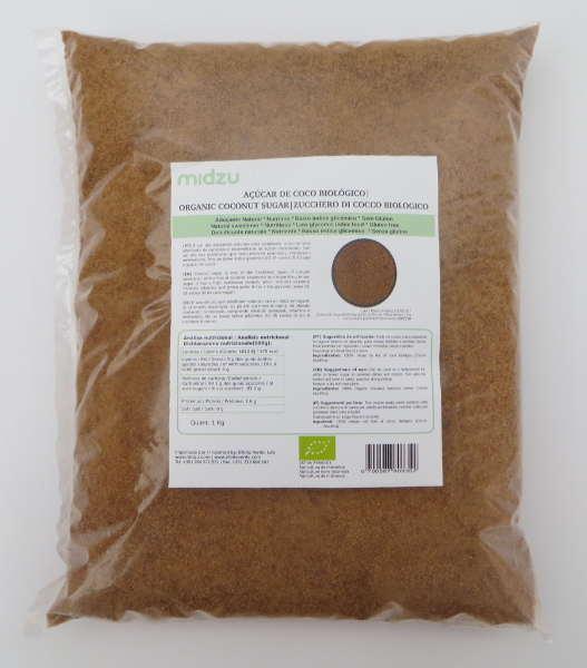 Organic coconut sugar Midzu 1 Kg