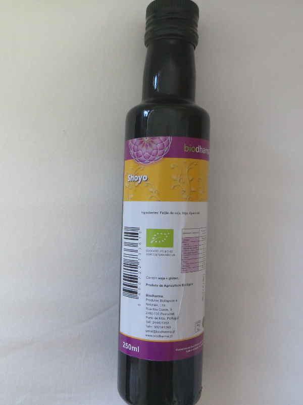 Organic Soy Sauce 250ml