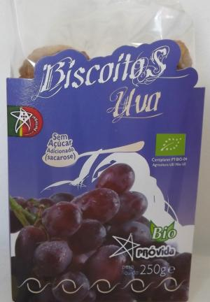 Organic Grape biscuits 250g