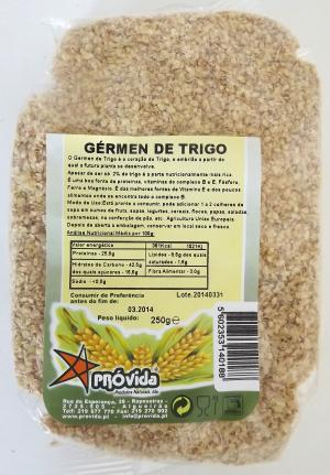 Raw wheat germ 250g
