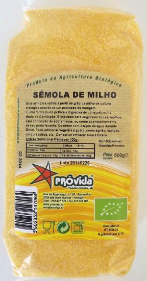 Organic Maize Semolina 500g