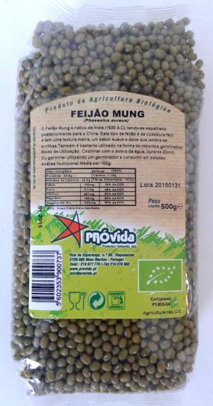 Organic Mung Beans 500g