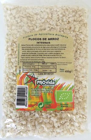 Organic rice flakes 400g