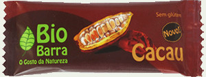 Organic cocoa cereal bar 30 g - gluten-free