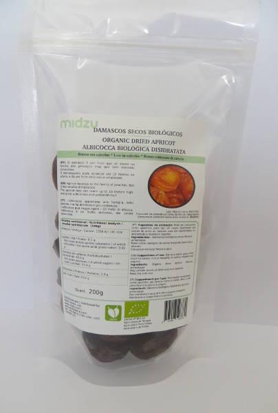 Organic dried Apricots Midzu 200 g