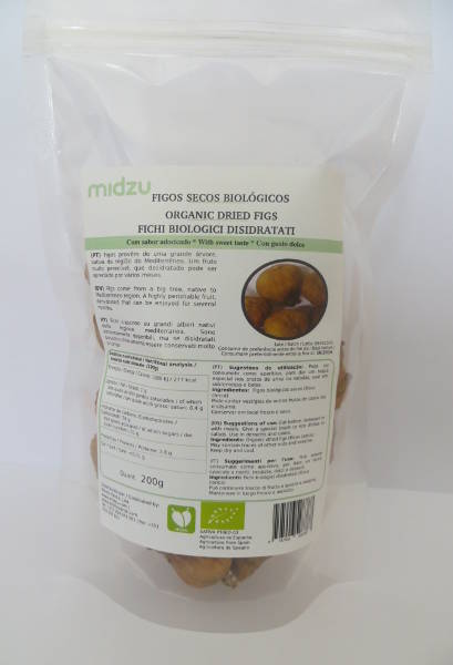 Organic dried figs Midzu 200 g