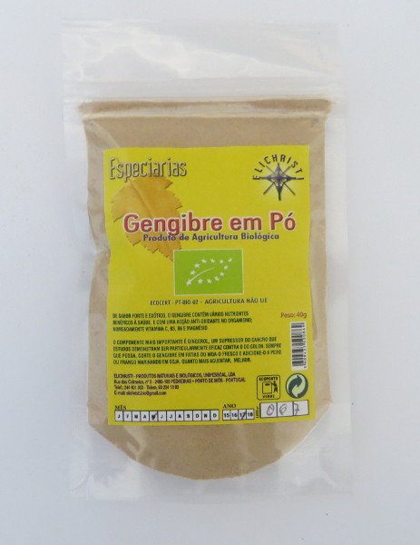 Organic ginger powder 40 g