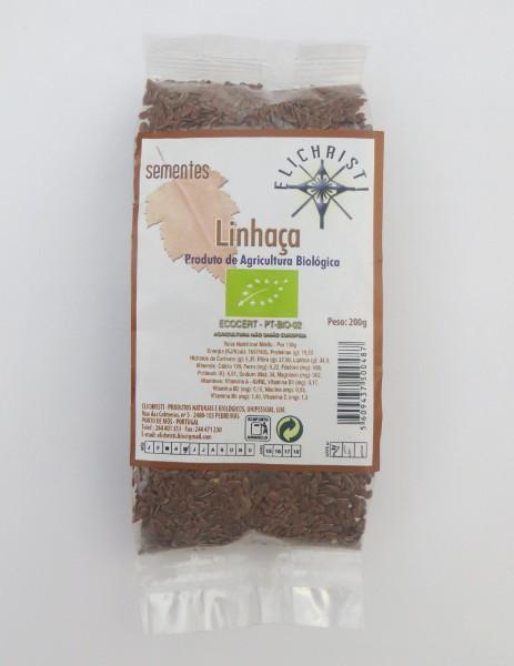 Organic golden linseeds 200 g