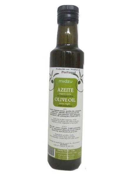 Extra Virgin Olive Oil cold pressed Midzu 250ml (glass bottle)
