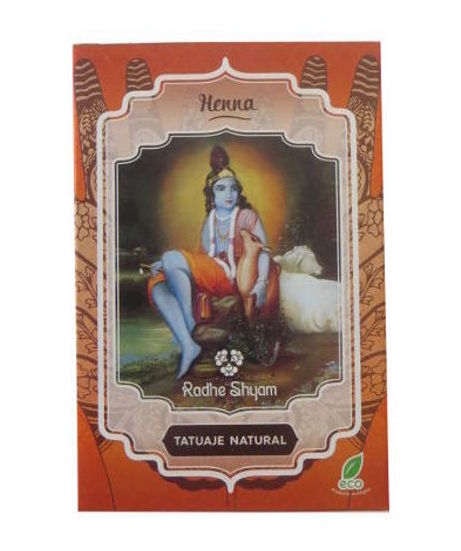 Natural Tattoo Henna Powder - Radhe Shyam