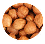 Organic raw hazelnuts (with skin) Midzu 200 g