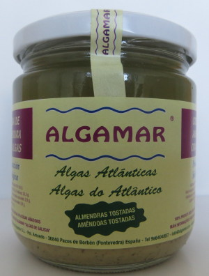 Organic Toasted Almond and Seaweed Paste - 320 g