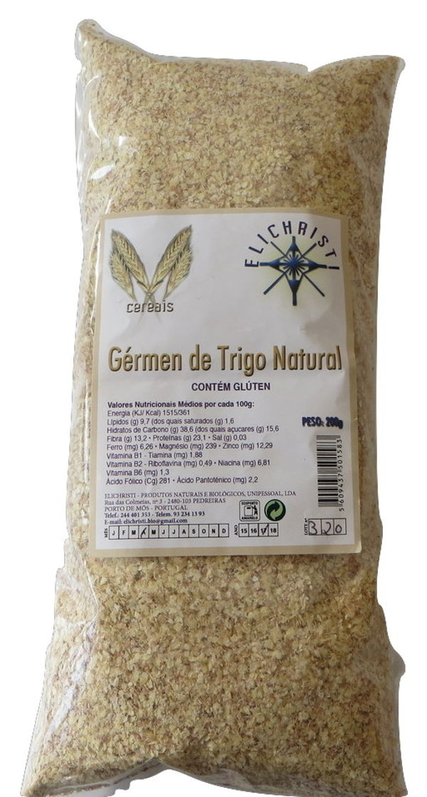 Natural Wheat Germ Elichristi 200 g