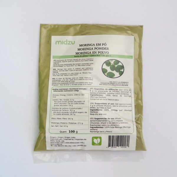Moringa powder Midzu 100 g