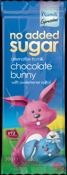 No Added Sugar Expressions Alt. To Milk Chocolate Bunny Bar - 30 g