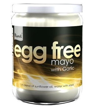 Garlic Egg Free Mayonnaise - gluten free