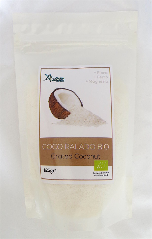 Organic Grated Coconut 125g