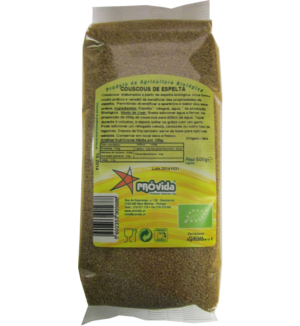 Organic Wholemeal Spelt Couscous 500 g