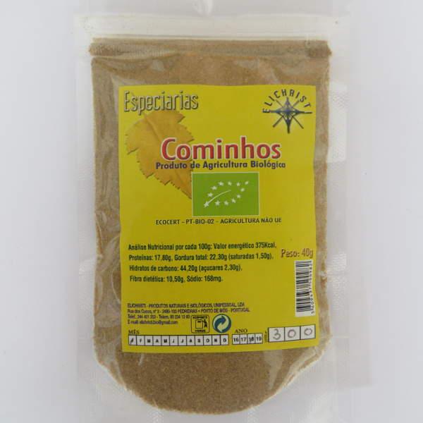 Organic Cumin powder - Elichristi 40 g