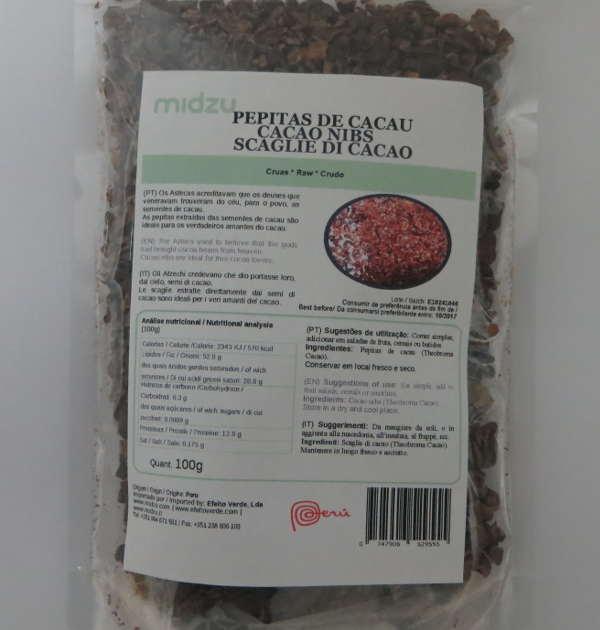 Cacao Nibs Midzu 100 g