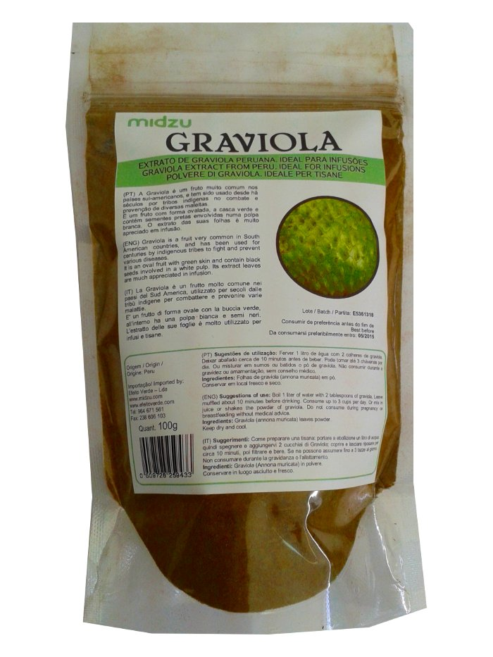 Graviola leaf powder 100g