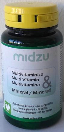 Multi Vitamin & Mineral